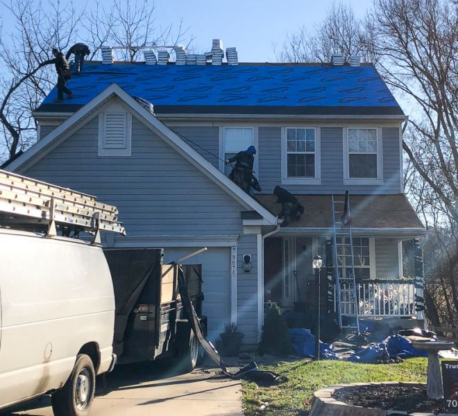 2Sullivan roofing during
