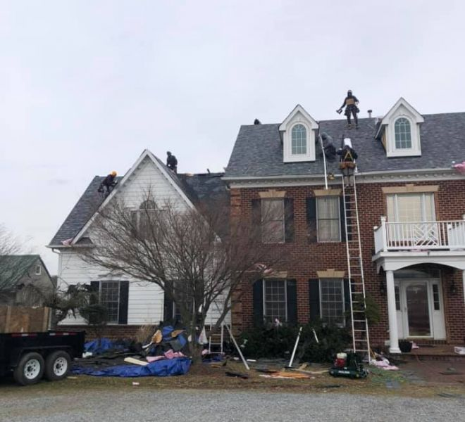 New Roof Installation in Purcellville, VA 20132 Loudoun County