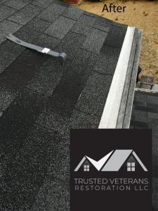 Installed asphalt shingles - Trusted Veterans Restoration, VA