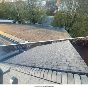 Wind damaged roof before and after - Trusted Veterans Restoration, Leesburg, VA